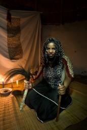 Sangoma Nomzamo in her Ndumba, KZN
